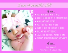 Alexandra 4 Month Announcement